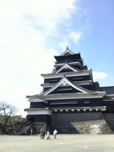 熊本城の大天守閣