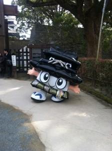 熊本城築城400年のひごまる君