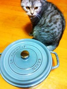 ストウブの鍋。
